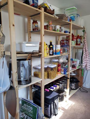 Pantry storage!!!